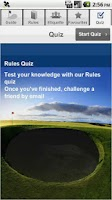 Screenshot of The R&A Rules of Golf