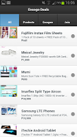 Screenshot of Ensogo Deals - LivingSocial PH
