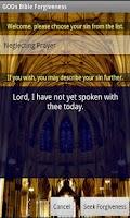 Screenshot of Bible-Code Forgiveness