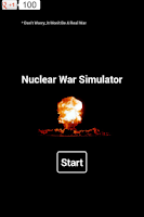 Screenshot of Nuclear War. Simulator.