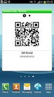 Screenshot of QR Droid Widgets™