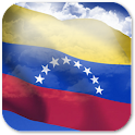 3D Venezuela Flag icon