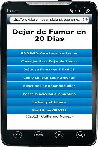 dejar-de-fumar-en-20-dias for android screenshot