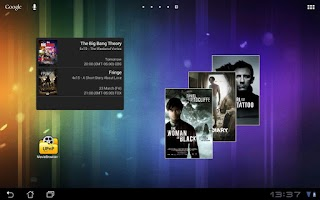Screenshot of MovieBrowser UPnP
