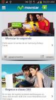 Screenshot of Movistar