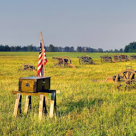 Civil War Battlefield by Kenny Coots - Landscapes Travel (  )