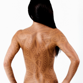Canvas by Adriaan Oosthuizen - People Body Art/Tattoos ( paisley, pattern, rampix photography, tattoo,  )