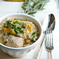 Chicken and Butternut Squash Stew with Chickpeas