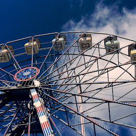 Ferris wheel by Yvonne Revoir - Instagram & Mobile iPhone