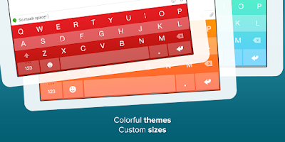 Screenshot of Fleksy Keyboard Free
