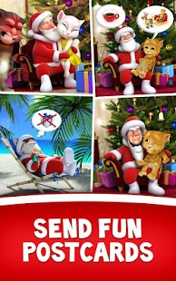 Download Talking Santa meets Ginger + APK on PC