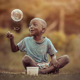 Adoration by Adrian McDonald - Babies & Children Children Candids ( child, love, moment, beautiful, children )