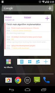 My Effectiveness: To do, Tasks- screenshot thumbnail