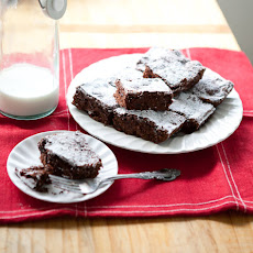 Double Chocolate Cherry Quinoa Brownies