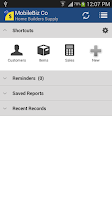 Screenshot of MobileBiz Co - Cloud Invoicing