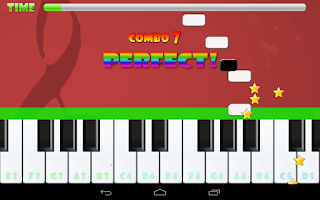 Screenshot of Piano Master Mozart Special