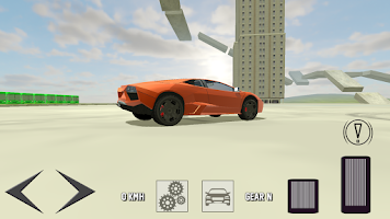 Screenshot of Extreme Super Car Driving 3D
