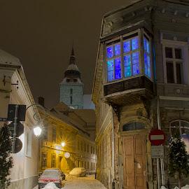 Fairy Tale by Mihai Nanu - Buildings & Architecture Statues & Monuments ( winter, kronstadt, bisericaneagra, blackchurch, brasov )