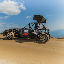 Super Chicken!!! by Matt Weaver - Sports & Fitness Motorsports ( chicke, clouds, climb, audi, mt, road, race, washinton, new hampshire, super, home build, to the, tube frame, mount, auto, nh )