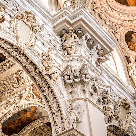 St. Stephen's Cathedral, Passau by Alice Lustah - Buildings & Architecture Architectural Detail