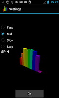 Screenshot of 3D Spectrum Analyzer LWP