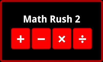 Screenshot of Math Rush 2