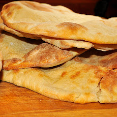 Tyler Florence's Pita Bread (Bread Machine, Dough Cycle)