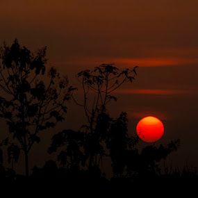 sunset by Mbah Gatot Nugroho Susanto - Landscapes Sunsets & Sunrises ( nature, sunset, landscape )