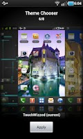 Screenshot of TouchWizzed - CM7