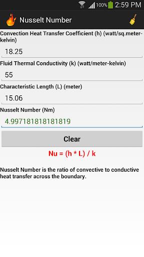 Thermodynamics Calculator - screenshot