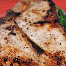 Veal Chops with Spinach