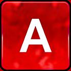 Red Glitter Keyboard Skin icon