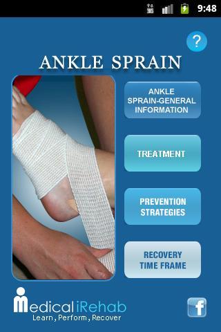 Medical iRehab Ankle Sprain