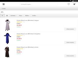 Screenshot of Muslim Shop