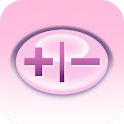 CoolCalc-GelPink/CarbonFiber icon