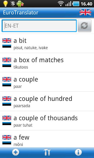 English-Estonian Dictionary