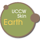 Earth UCCW skin icon
