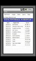 Screenshot of US Naval Academy - USNA