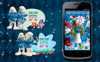 Screenshot of The Smurfs 2 3D Live Wallpaper