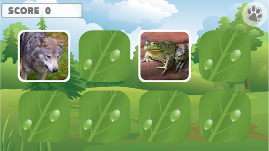 Animal Memory Games for Kids- screenshot thumbnail