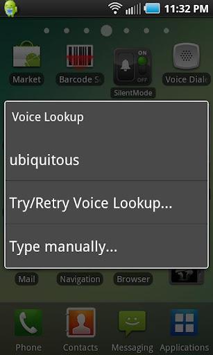 Voice Lookup