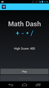 Math Dash - screenshot