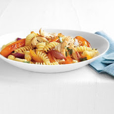 Fusilli with Chicken and Peppers