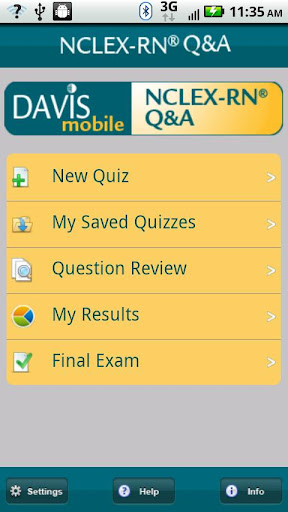 Davis Mobile NCLEX-RN® Q A