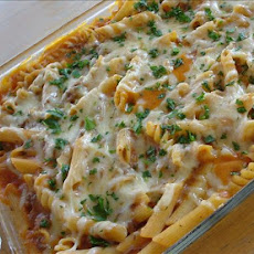Creamy Baked Beefaroni (Light)