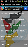 Screenshot of Jordanian Radio Music & News
