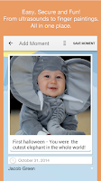 Screenshot of Moment Garden  Baby Photo Book