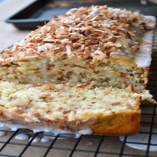 Toasted Coconut Buttermilk Pound Cake