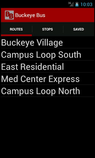 Buckeye Bus Tracker