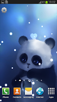 Screenshot of Panda Lite Live Wallpaper